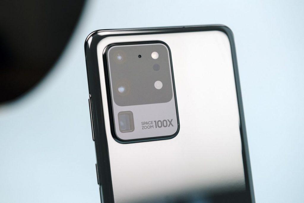Samsung s20 smartphone